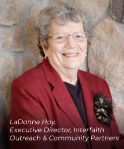 Interfaith Outreach LaDonna Hoy Executive Director