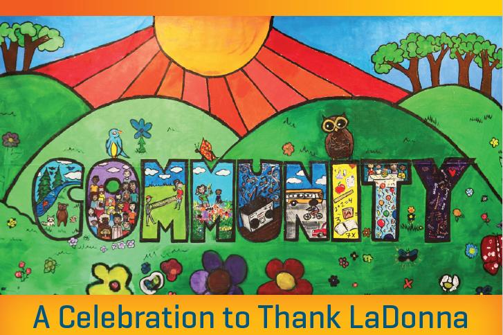 A Celebration to thank LaDonna